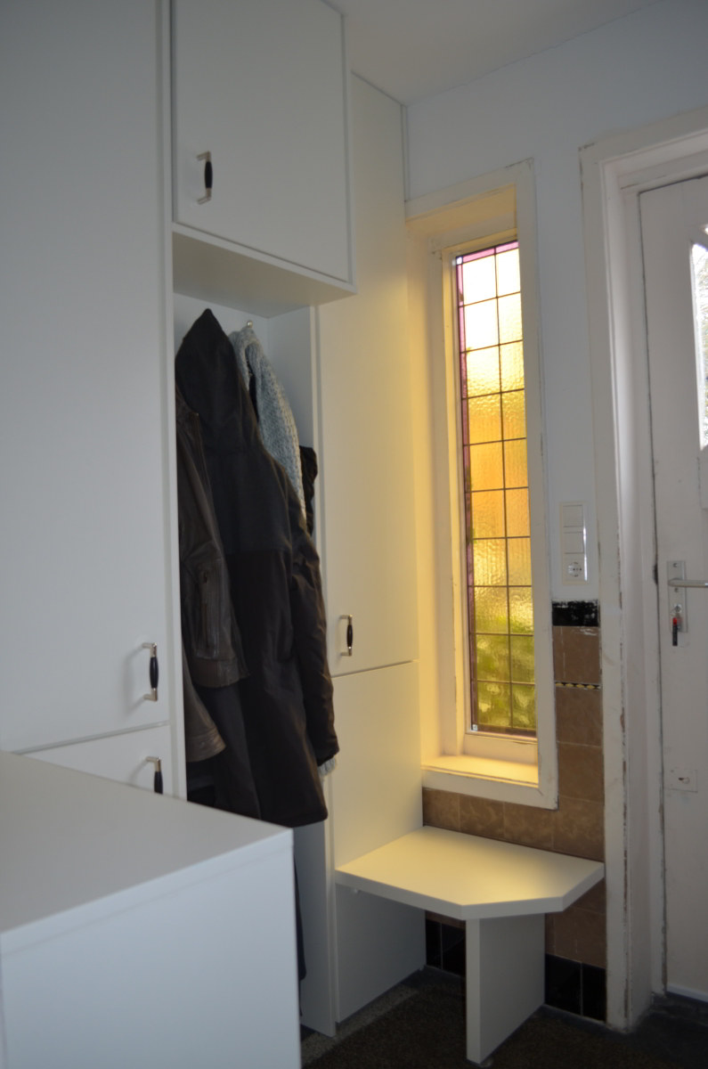 Garderobekast bij voordeur