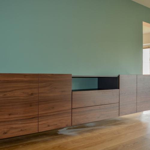 Houtkleurig tv meubel