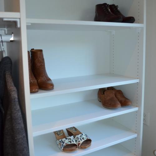 Inloopkast voor schoenen